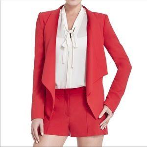 BCBGmaxazria aubree red blazer